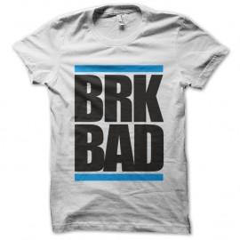 t-shirt BRK BAD - Blanc pour homme et femme
