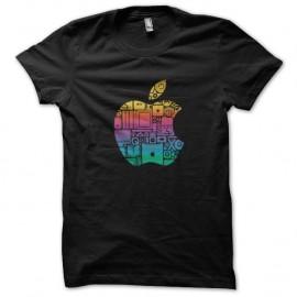 Shirt apple articles logo noir pour homme et femme