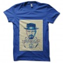 Shirt Breaking Bad Heisenberg bleu pour homme et femme
