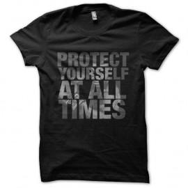 Shirt protect yourself mike tyson noir pour homme et femme