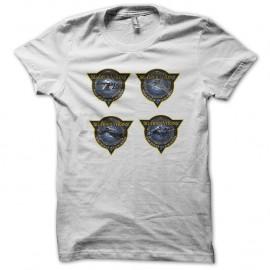 Shirt Stargate logo blanc pour homme et femme