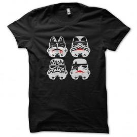 Shirt kiss trooper noir pour homme et femme