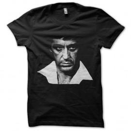 Shirt tony montana portrait noir pour homme et femme