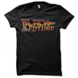 Shirt Black Is The Future noir pour homme et femme