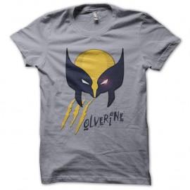 Shirt Wolverine Claw gris pour homme et femme