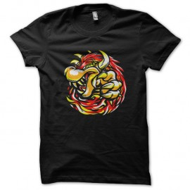 Shirt tyrant koopa noir pour homme et femme