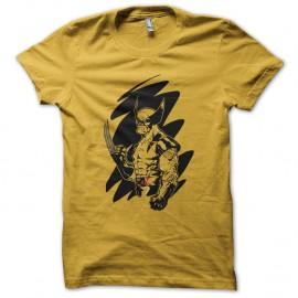 Shirt Wolverine jaune pour homme et femme