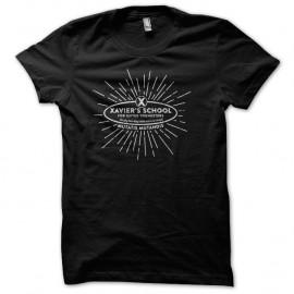 Shirt Xmen Xavier school noir pour homme et femme