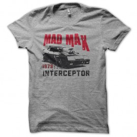 Shirt Mad Max Interceptor 1979 vintage gris pour homme et femme