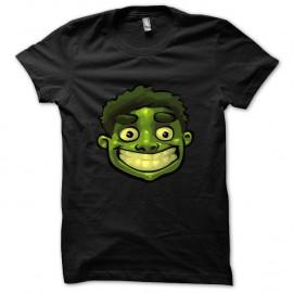 Shirt The Hulk Marvel noir pour homme et femme