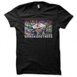 Shirt Super Smash Bros noir pour homme et femme