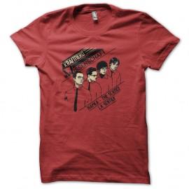 Shirt kraft nerds rouge pour homme et femme