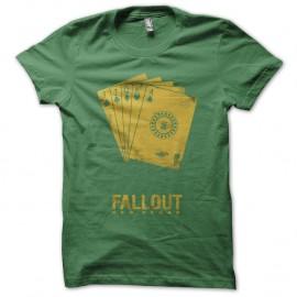 Shirt Fallout new vegas vert pour homme et femme