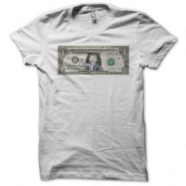 Shirt dollar fallout vault boy blanc pour homme et femme