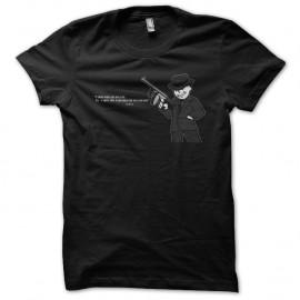 Shirt fallout vault boy detective noir pour homme et femme