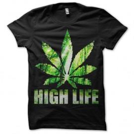 Shirt High Life blanc pour homme et femme