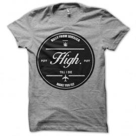 Shirt High Logo jamaica gris pour homme et femme