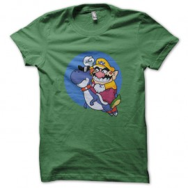 Shirt Boshi Wario vert pour homme et femme
