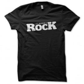 Shirt classic rock noir pour homme et femme