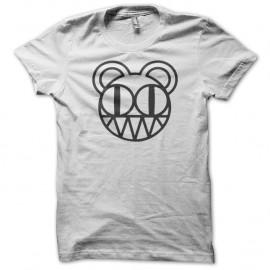 Shirt radiohead logo ourson blanc pour homme et femme