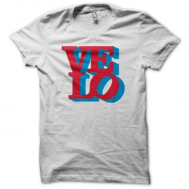 Shirt VELO blanc pour homme et femme