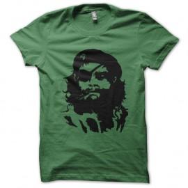 Shirt che solid snake vert pour homme et femme