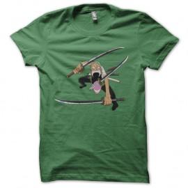 Shirt one piece solo vert pour homme et femme