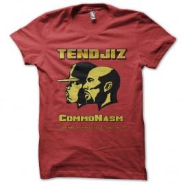 Shirt tendjiz commonasm rouge pour homme et femme