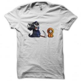 Shirt kenny de south park blanc pour homme et femme