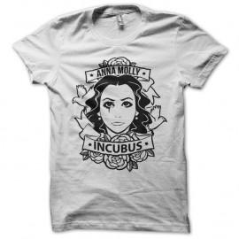 Shirt anna molly incubus noir pour homme et femme