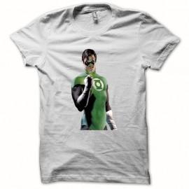 Shirt Green Lantern La Lanterne verte blanc pour homme et femme