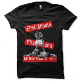 Shirt muhammad ali k.o noir pour homme et femme