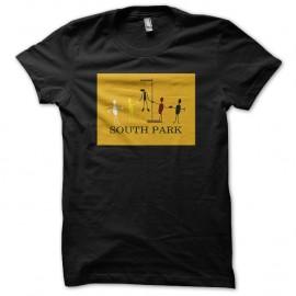Shirt South Park drapeau noir pour homme et femme