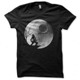 Shirt wookie au clair de lune noir pour homme et femme