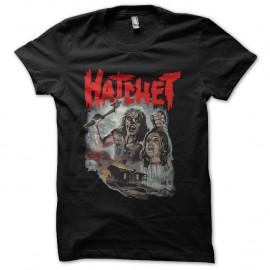 Shirt hatchet noir pour homme et femme