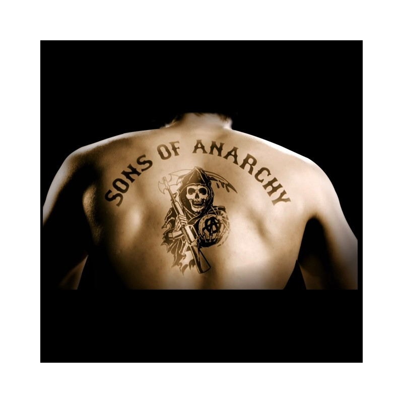 T Shirt Sons Of Anarchy Black
