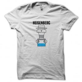 Shirt Monsieur heisenberg blanc pour homme et femme
