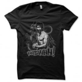 Shirt Bruce Lee Watah noir pour homme et femme