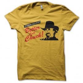 Shirt better call chuck parodie better call saul jaune pour homme et femme