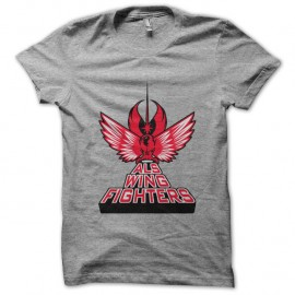 Shirt Als wing fighters gris pour homme et femme