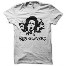 Shirt the wailers blanc pour homme et femme