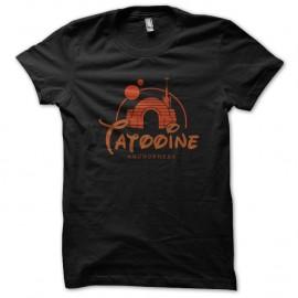 Shirt Tatooine noir pour homme et femme