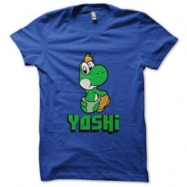 Shirt Yoshi bleu pour homme et femme