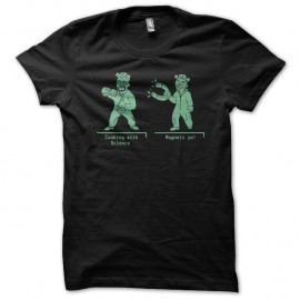 Shirt breaking bad duo jesse et walter en cartoon pour homme et femme