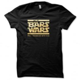 Shirt Bars Wars Noir pour homme et femme