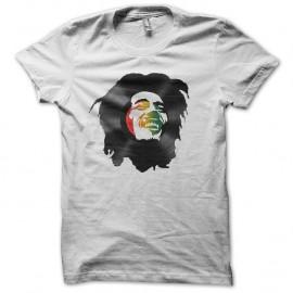 Shirt bob marley en vinyl blanc pour homme et femme