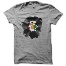 Shirt bob marley en vinyl gris pour homme et femme