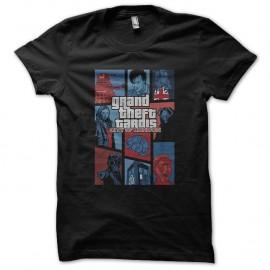 Shirt doctor who parodie GTA noir pour homme et femme