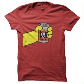 Shirt Duff a la tienne rouge pour homme et femme