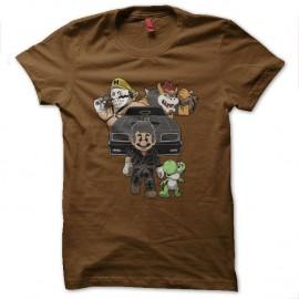 Shirt mario mad max marron pour homme et femme